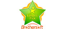 Awarded by Brothersoft